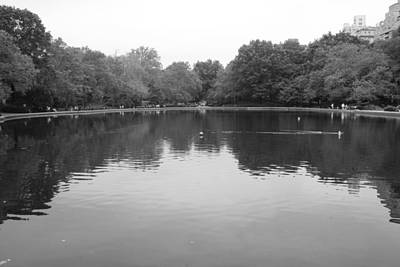 Photograph - The Sailboat Pond Central Park by Christopher Kirby