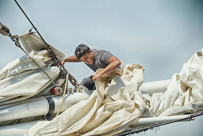 Photograph - The Sailmaker by Cate Franklyn