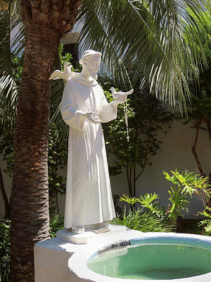 Missions San Diego Photograph - The Saint by Gordon Beck