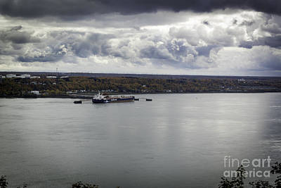 Photograph - The Saint Lawrence River by Wayne Wilton