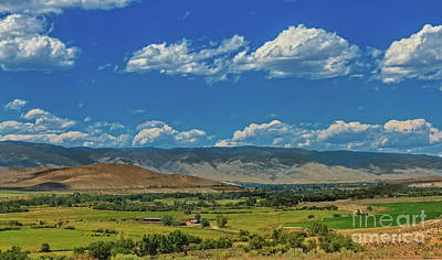 Photograph - The Salmon Valley by Robert Bales