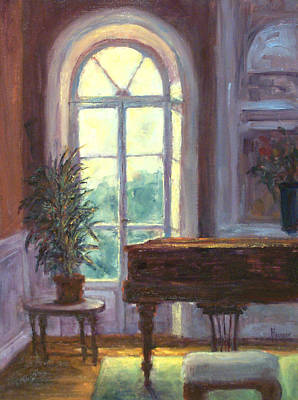 Painting - The Salon by Jill Musser