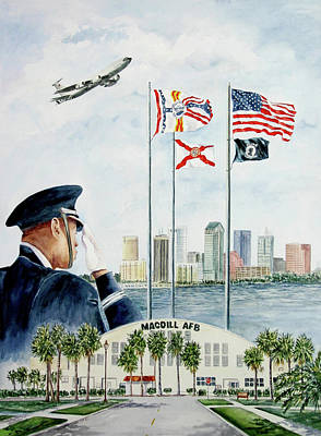 Painting - The Salute by Roxanne Tobaison