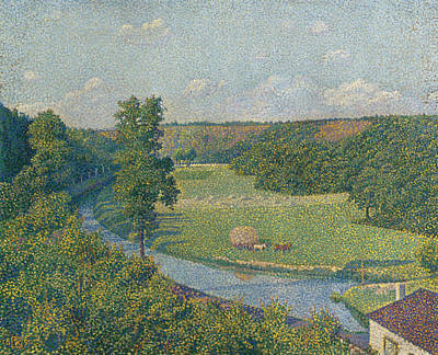 Painting - The Sambre Valley by Theo Van Rysselberghe
