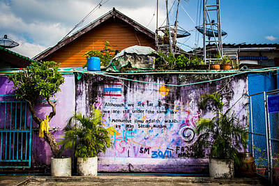 Thailand Photograph - The Same Sky by Phillip Schafer