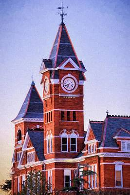 Photograph - The Samford Clock Tower by JC Findley