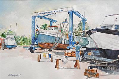 Painting - The Sammy B  by P Anthony Visco