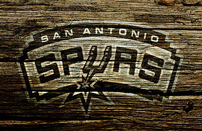 The San Antonio Spurs 2a Art Print by Brian Reaves