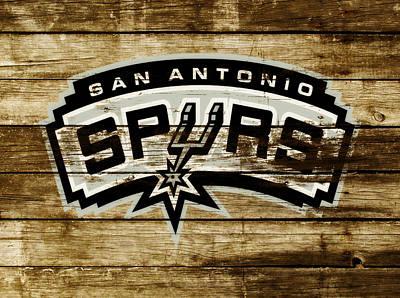 The San Antonio Spurs 3b Art Print