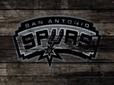 The San Antonio Spurs 3e Art Print
