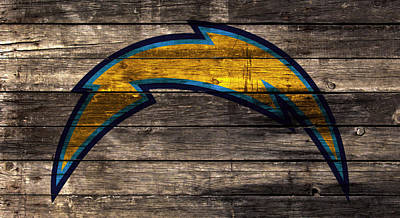 The San Diego Chargers 1w Art Print