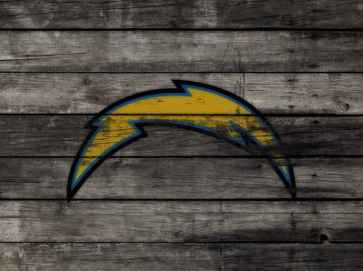 Ladainian Tomlinson Mixed Media - The San Diego Chargers 3e        by Brian Reaves