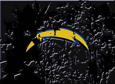 The San Diego Chargers Art Print