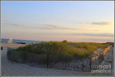 The Sand Dunes Of Long Island Art Print