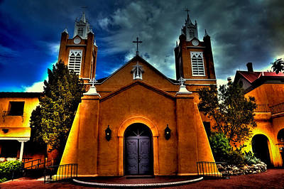 Photograph - The San Felipe De Neri Church by David Patterson