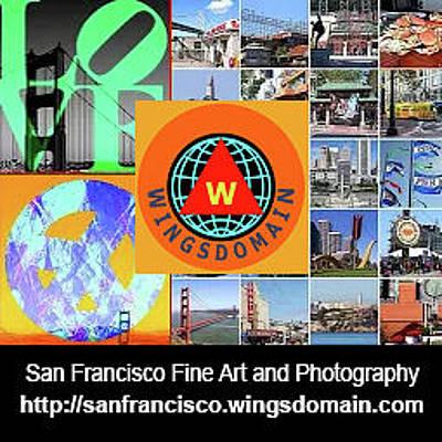 Photograph - Wingsdomain San Francisco Bay Area Fine Art And Photography Wall Art Home Decor And Office Decor by Wingsdomain Art and Photography