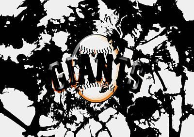 The San Francisco Giants 1a Art Print