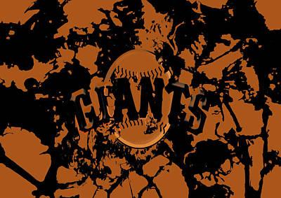The San Francisco Giants 1b Art Print