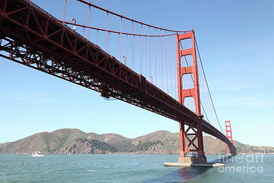 Photograph - The San Francisco Golden Gate Bridge 5d21604 by San Francisco Art and Photography