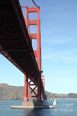 Photograph - The San Francisco Golden Gate Bridge 5d21619 by San Francisco Art and Photography