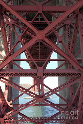 Photograph - The San Francisco Golden Gate Bridge 5d21631 by San Francisco Art and Photography