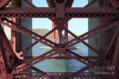 Photograph - The San Francisco Golden Gate Bridge 5d21636 by San Francisco Art and Photography