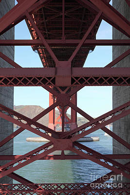 Photograph - The San Francisco Golden Gate Bridge 5d21637 by San Francisco Art and Photography