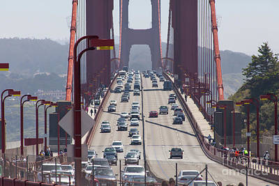 Photograph - The San Francisco Golden Gate Bridge 5d2943 by San Francisco Art and Photography