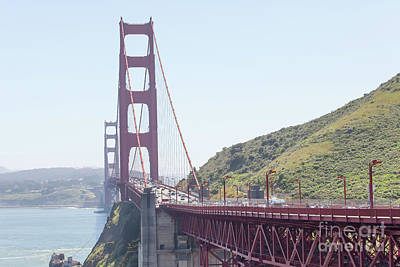 Photograph - The San Francisco Golden Gate Bridge 5d2949 by San Francisco Art and Photography