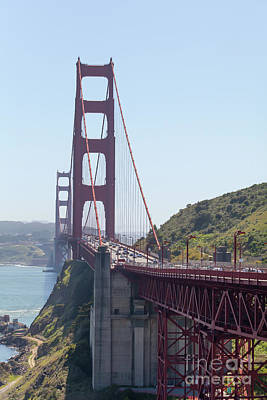 Photograph - The San Francisco Golden Gate Bridge 5d2951 by San Francisco Art and Photography