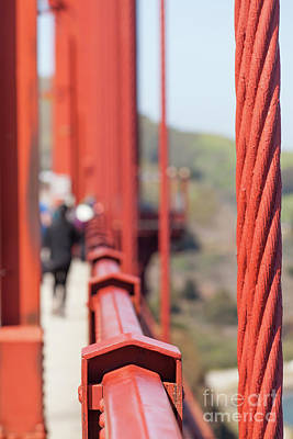 Photograph - The San Francisco Golden Gate Bridge 5d2983 by Wingsdomain Art and Photography