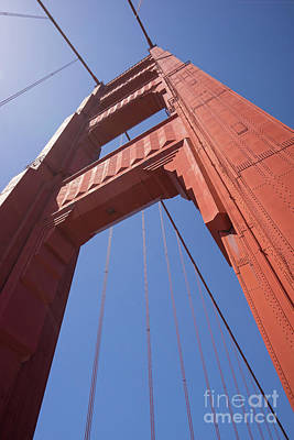 Photograph - The San Francisco Golden Gate Bridge Dsc6170 by San Francisco Art and Photography