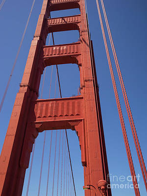 Photograph - The San Francisco Golden Gate Bridge Dsc6174 by San Francisco Art and Photography