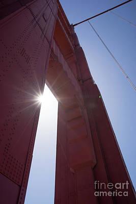 Photograph - The San Francisco Golden Gate Bridge Dsc6191 by Wingsdomain Art and Photography