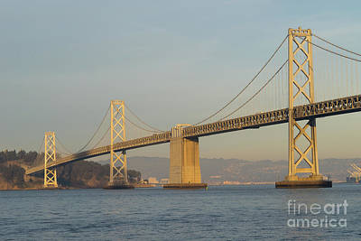 Photograph - The San Francisco Oakland Bay Bridge Dsc5860 by Wingsdomain Art and Photography
