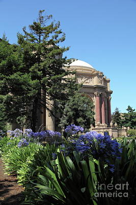 Photograph - The San Francisco Palace Of Fine Arts 5d18050 by San Francisco Art and Photography