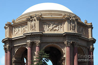 Photograph - The San Francisco Palace Of Fine Arts 5d18059 by San Francisco Art and Photography