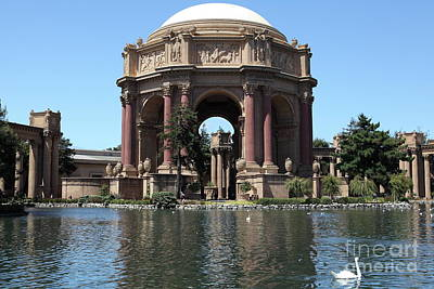 Photograph - The San Francisco Palace Of Fine Arts 5d18081 by San Francisco Art and Photography