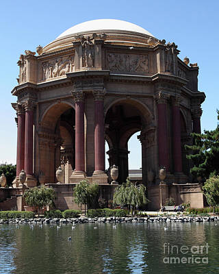 Photograph - The San Francisco Palace Of Fine Arts 5d18096 by San Francisco Art and Photography