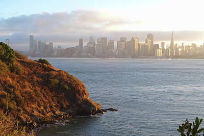 Photograph - The San Francisco Skyline From Treasure Island by Toby McGuire
