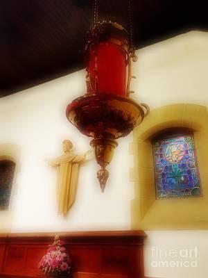 The Sanctuary Lamp Art Print