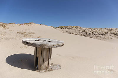 Photograph - The Sand Dunes Of Province Lands Cape Cod by Edward Fielding