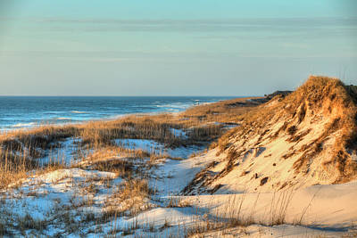 Photograph - The Sand Dunes Of St Joe State Park by JC Findley
