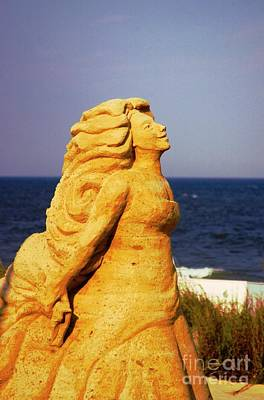 Photograph - The Sand Sculpture by Bob Pardue