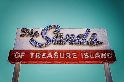 The Sands Art Print by Jerry Golab