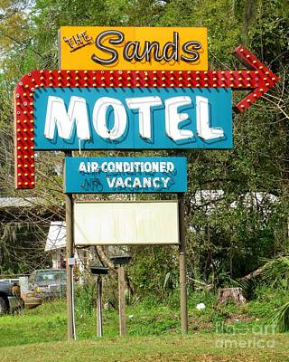 Photograph - The Sands Motel by Tim Townsend