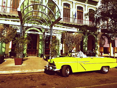 Photograph - The Saratoga In Havana Cuba  by Funkpix Photo Hunter