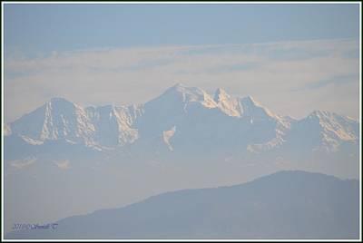 Photograph - The Saraswati Mountain Range by Sonali Gangane