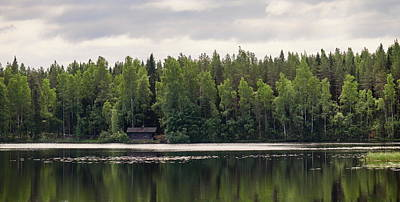 Photograph - The Sauna Of Kintulammi by Jouko Lehto