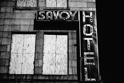 Photograph - The Savoy by Karol Livote